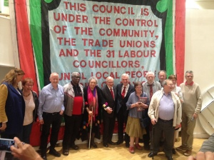 The councillors past and present